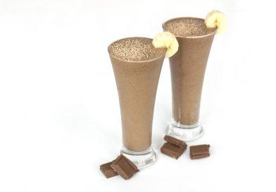 milkshake chocolat vegan